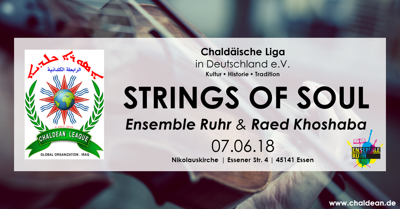 Strings of Soul - Ensemble Ruhr & Raed Khoshaba